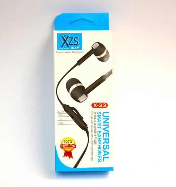 Наушники XZS X-33 Nokia-iPhone