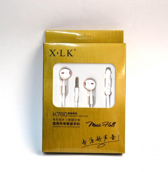 Наушники XLK K760