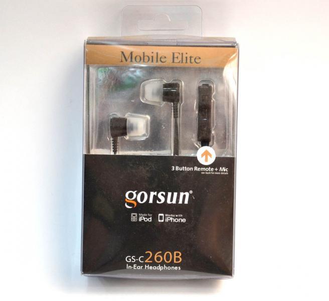 Наушники GORSUN GS-C260B