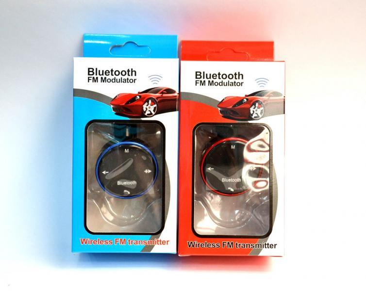 FM модулятор с Bluetooth для автомобиля