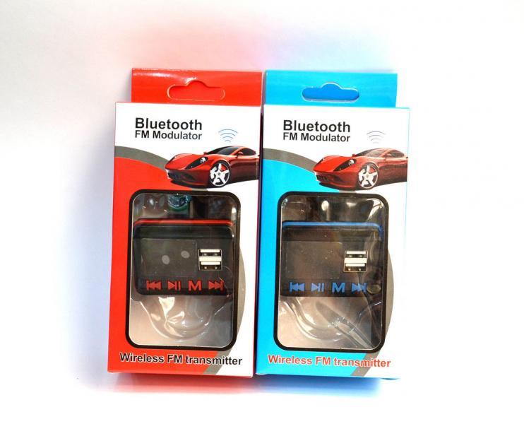 FM-модулятор с Bluetooth