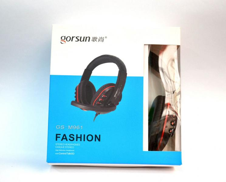 Наушники с микрофоном Gorsun GS-M961