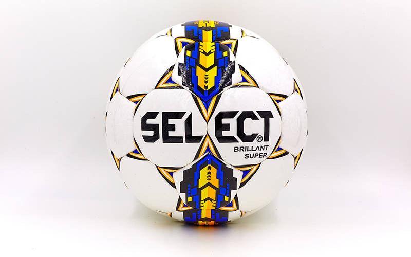 Мяч футбольный №5 CORD ST BRILLANT SUPER (№5, 5 сл., сшит вручную)
