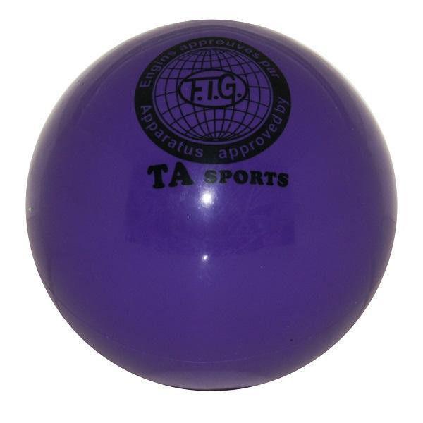 """Мяч для художественной гимнастики """"TA Sport"""" Диаметр 15 см фиолетовый"""