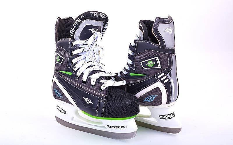 Коньки хоккейные PVC (р-р 36-46)