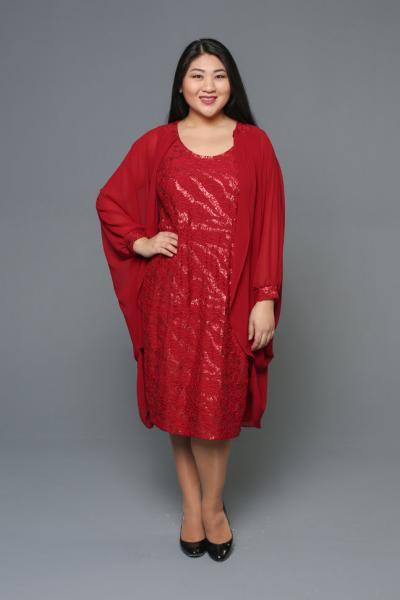 Двойка (платье + кардиган) DB 053