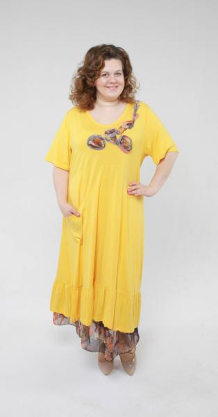 Двойка (платье + подъюбник) DH 420
