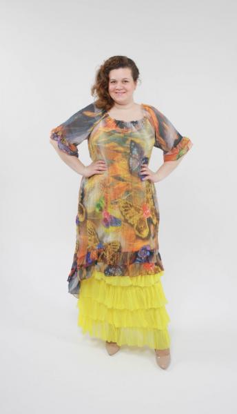 Двойка (сарафан + платье) CD 3066
