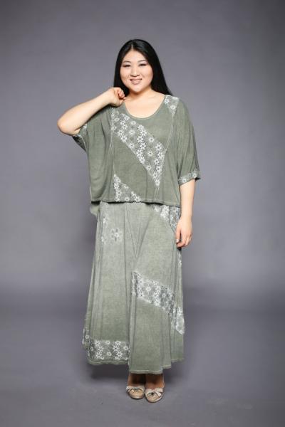 Двойка (юбка + блуза) CD 3389