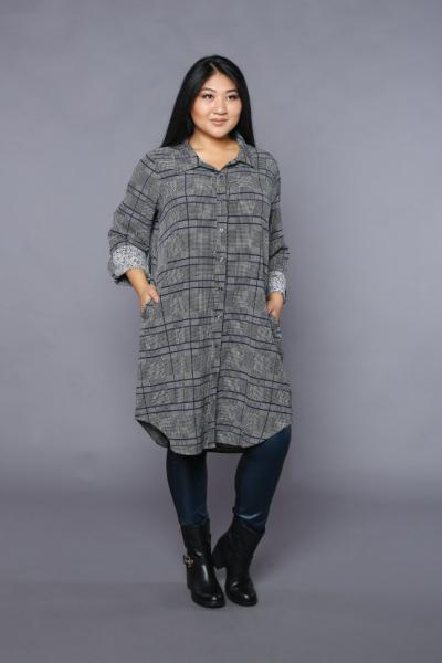 Платье-рубашка DP 1723