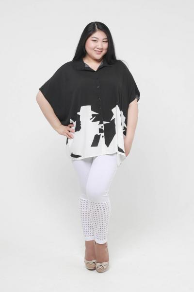 """Рубашка-туника """"Вестерн"""" DP 1529-1"""