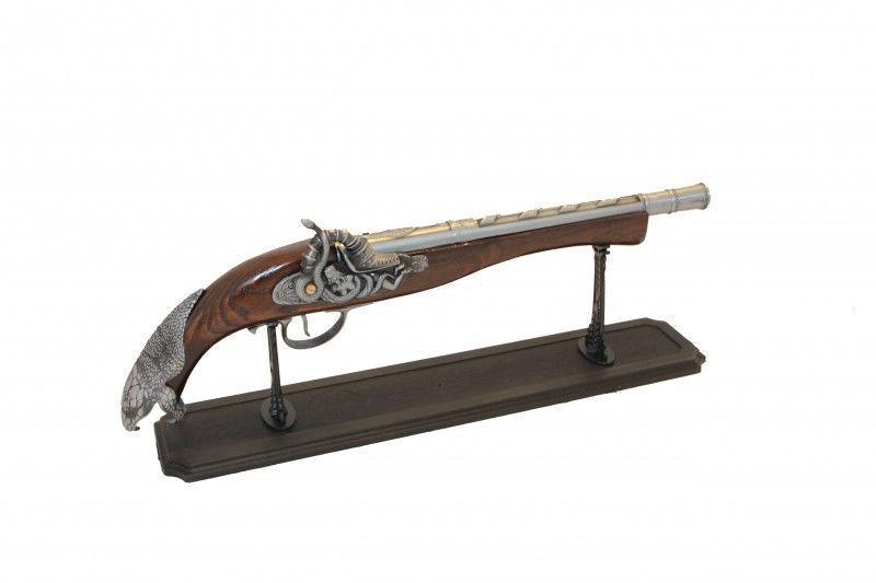 Зажигалка в виде ружья - Змея