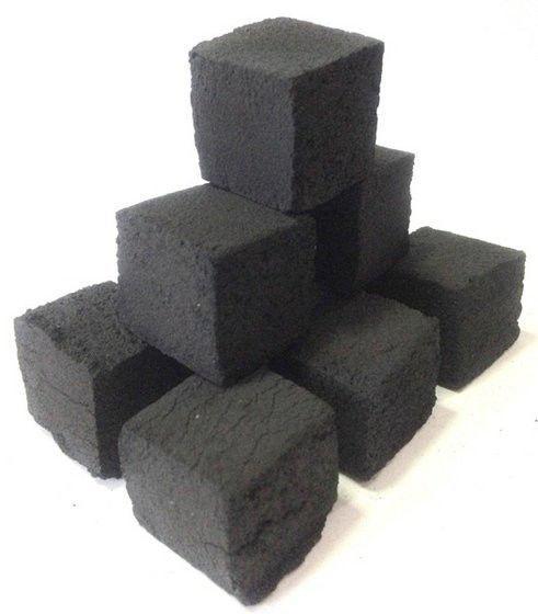 Кокосовый уголь для кальяна Coco shisha 0.9 кг ( без упаковки )