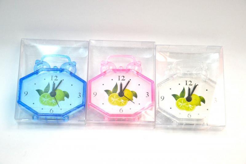 Часы с будильником в блистере