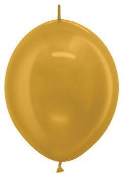 GLМ6 линколун золотой №39 металлик (16 см, 6″)