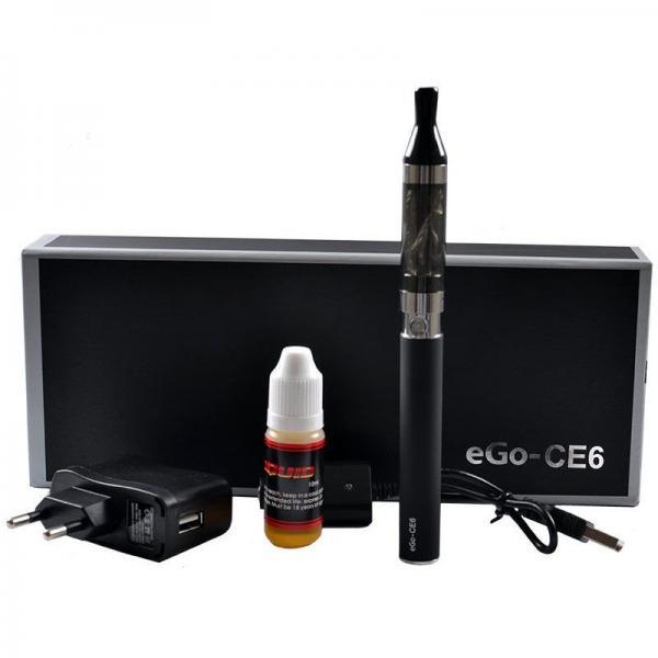 Электронная сигарета в подарочной коробке CE6 1100мАч EC-008