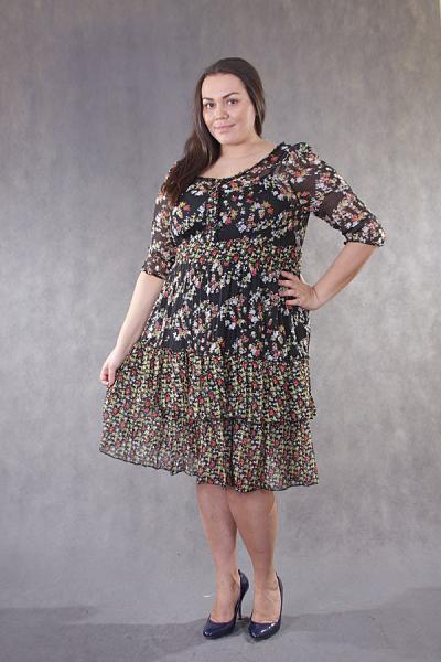 Двойка (платье + сарафн) LAL 1738