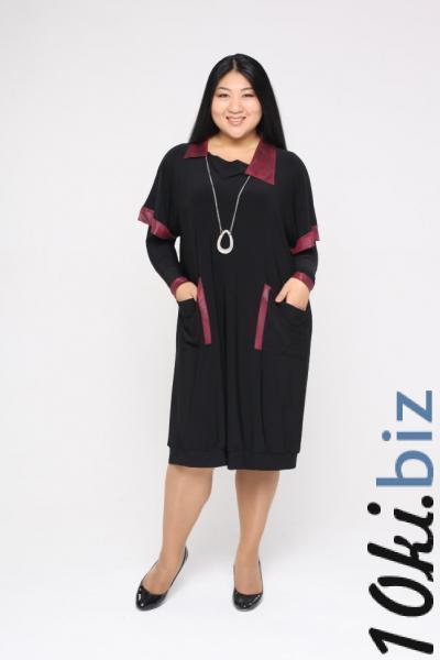 Платье-туника с кулоном и рукавами DP 2283 Платья-туники в Москве