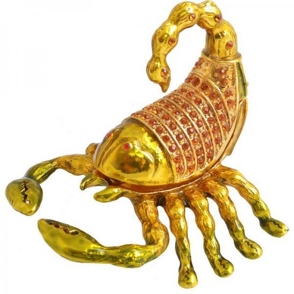 Шкатулка ювелирная Скорпион QF1889-003-1
