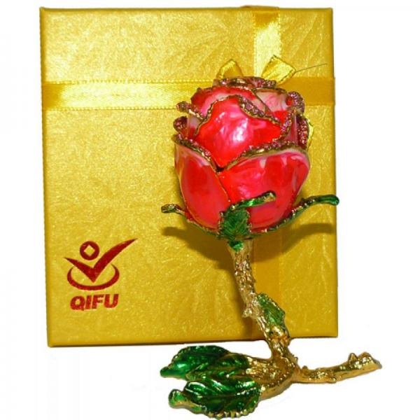 Шкатулка ювелирная Роза №2034