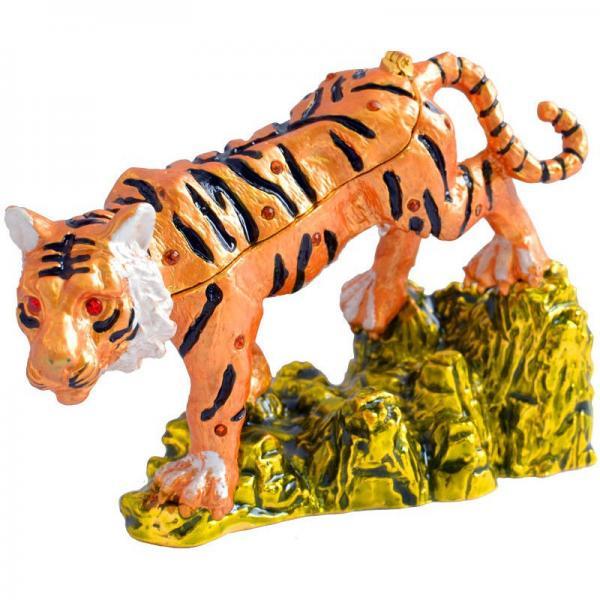 Шкатулка ювелирная Тигр QF2696