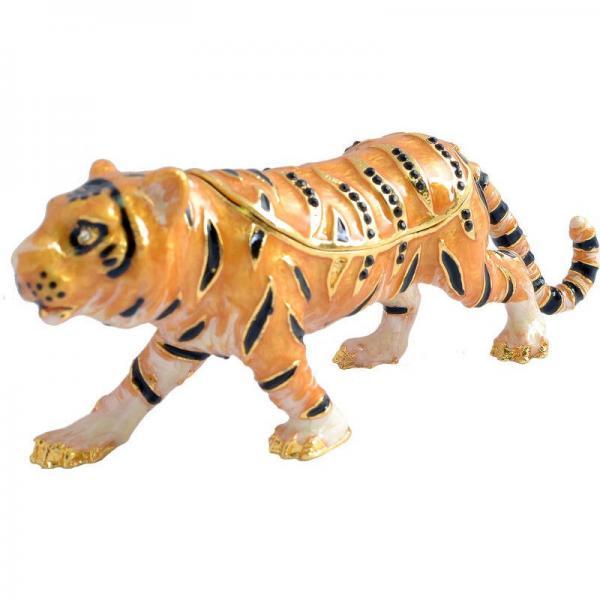 Шкатулка ювелирная тигр №2729