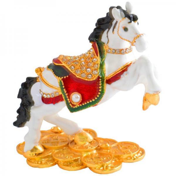 """Шкатулка ювелирная """"Лошадь"""" QF4564"""