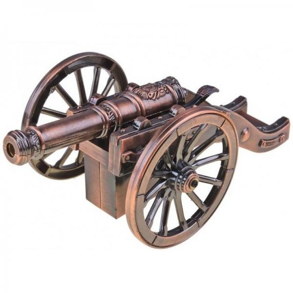 Зажигалка сувенирная в виде старинной пушки №2830
