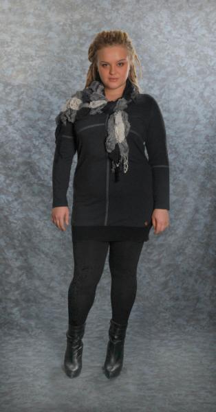 Платье-туника + шарф LZ 2023