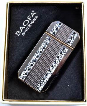 Зажигалка подарочная Baofa №3890
