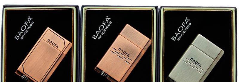 Зажигалка подарочная Baofa №4076