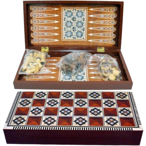 Игровой набор 3в1 Шахматы,Шашки,Нарды W5009 (A,B,C,D)