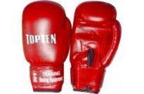 """Перчатки боксерские детские """"TOPTEN"""" 6 oz, красный"""