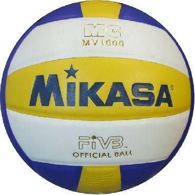 Мяч волейбол. Клееный MIKASA MV-1000 (PU, №5, 3 слоя)