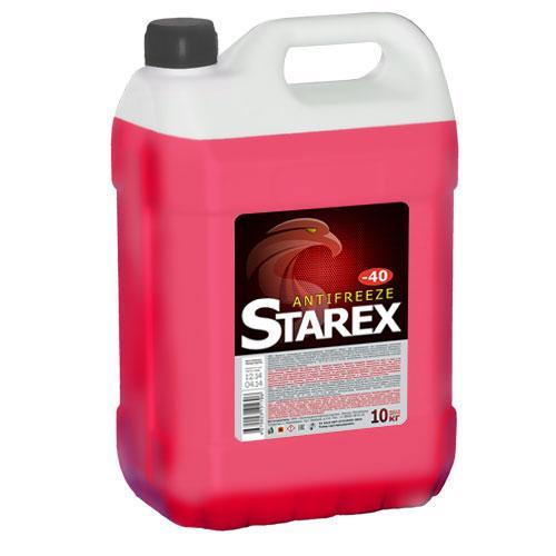 антифриз STAREX красный 10кг.