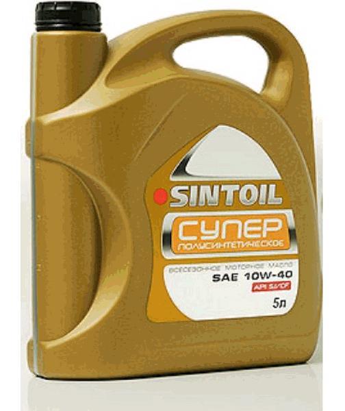 масло моторное sintoil 10w-40 супер sg/sd 4л.