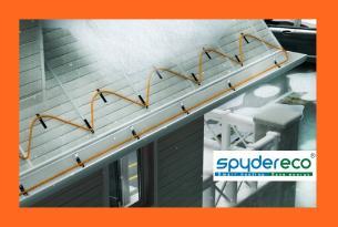 Резистивный кабель для антиобледенения Raon SpyderEco RFHC-30W в отрез (от 3м, шаг 1м)