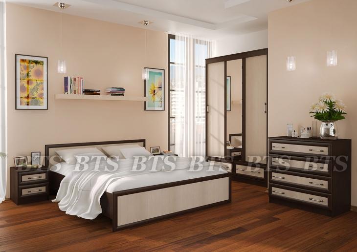 Фото Мебель для спальни Модульный спальный гарнитур Модерн ( BTS МЕБЕЛЬ)