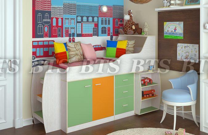 Фото Детская мебель Детская Минимакс (BTS МЕБЕЛЬ)