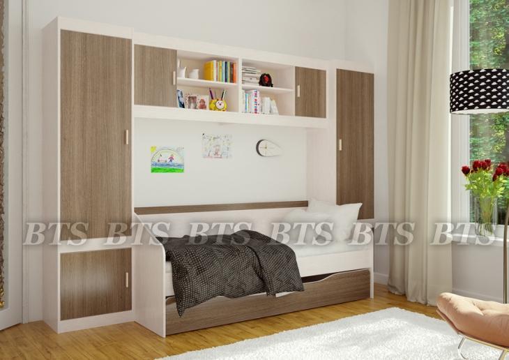 Фото Детская мебель Детская модульная система Паскаль (БТС)