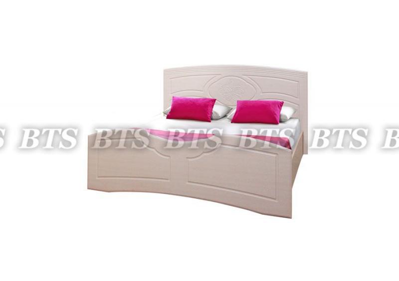 Кровать Лилия 1,6м МДФ (БТС)