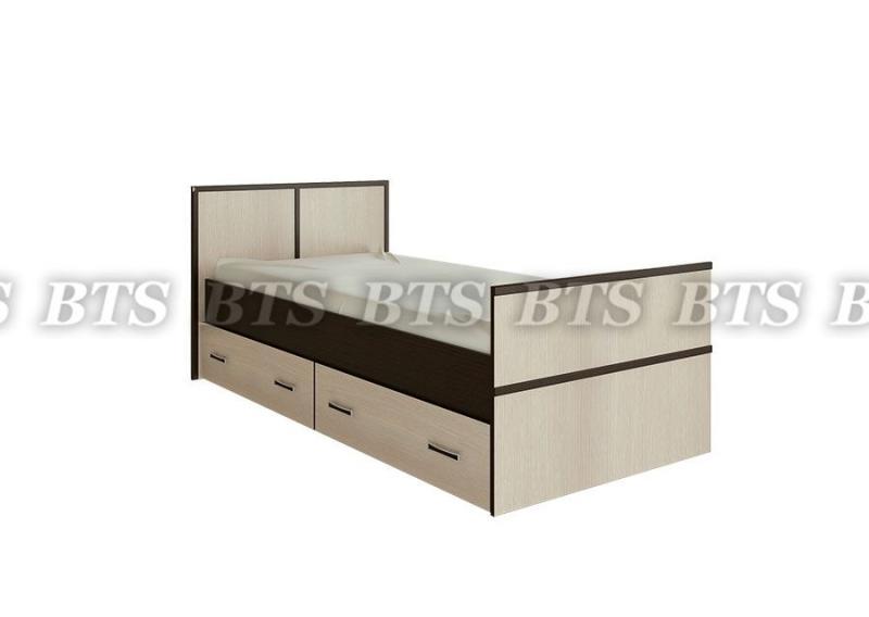 Фото Кровати Сакура кровать с ящиками 0,9 м (БТС)