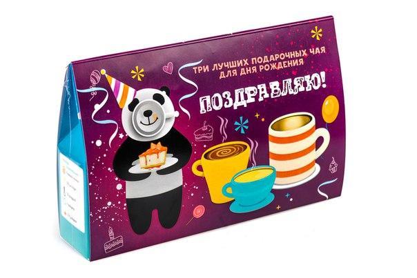 """Подарочный набор чая """"Поздравляем!"""""""