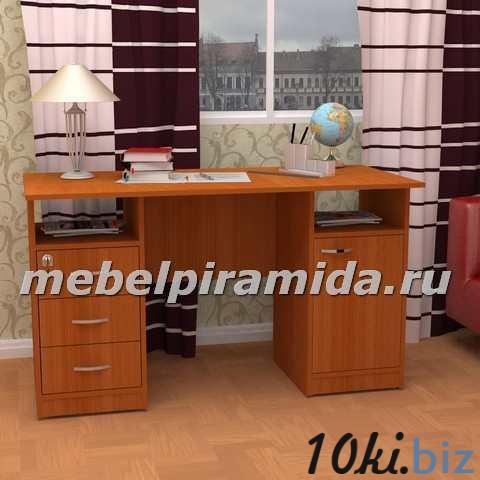 Стол двухтумбовый Фронда-4 (Пирамида) Письменные столы в России
