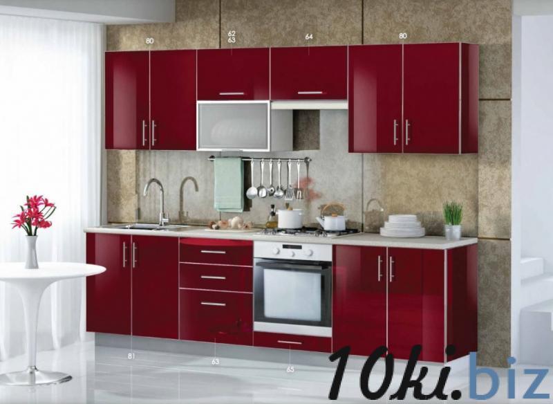 """Кухня """"Mirror Gloss  bordo"""" - Кухонные гарнитуры в магазине Одессы"""
