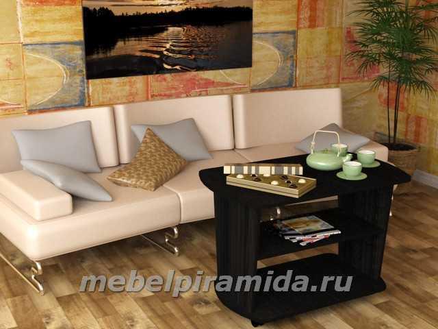 Фото Столы журнальные, столы-тумбы Журнальный стол Агат (Пирамида)
