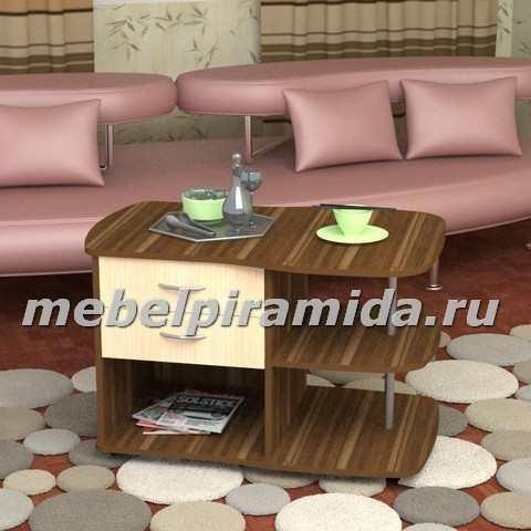 Фото Столы журнальные, столы-тумбы Журнальный стол Люкс (Пирамида)