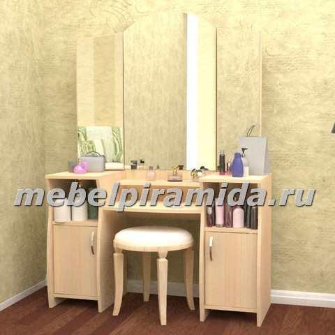 Фото Столы журнальные, столы-тумбы Туалетный столик Галант-4 (Пирамида)