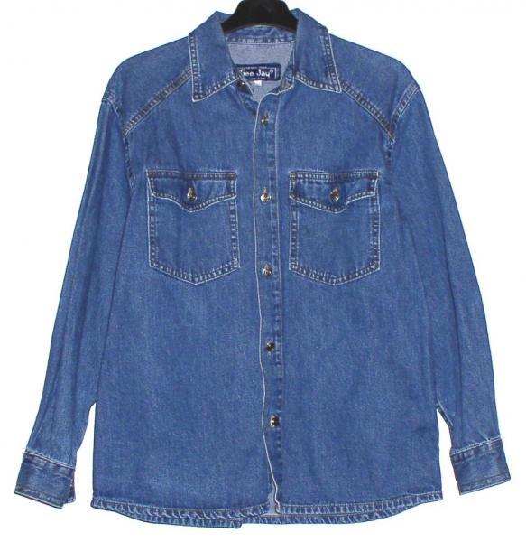 """Рубашка джинсовая мужская """"Gee Jay"""" *5322"""