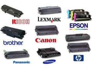 Картриджи для принтеров разных марок. Оригинальные и не оригинальные. Наличие и цену уточняйте.